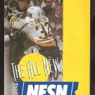 Boston Bruins NESN Cable 1995 Schedule Flyer Don Sweeney Photo