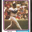 Los Angeles Dodgers Willie Crawford 1974 Topps Baseball Card # 480 vg