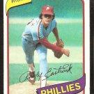 Philadelphia Phillies Rawley Eastwick 1980 Topps Baseball Card # 692 nr mt