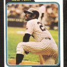 New York Yankees Horace Clarke 1974 Topps Baseball Card # 529 vg