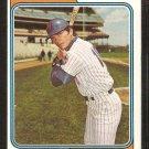 New York Mets Duffy Dyer 1974 Topps Baseball Card # 536 good