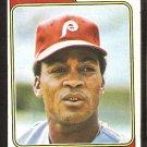 Philadelphia Phillies Cesar Tovar 1974 Topps Baseball Card # 538 good
