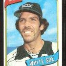 CHICAGO WHITE SOX ED FARMER 1980 TOPPS BASEBALL CARD # 702 NR MT