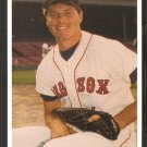 Boston Red Sox Roger Clemens 1987 Postcard # 21