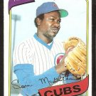 Chicago Cubs Lynn McGlothen 1980 topps baseball card # 716 nr mt