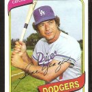 Los Angeles Dodgers Steve Yeager 1980 topps baseball card # 726 ex/nm