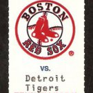 DETROIT TIGERS @ BOSTON RED SOX 1994 FENWAY PARK FULL TICKET