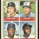 CHICAGO CUBS BILL MADLOCK ROOKIE CARD RC 1974 TOPPS # 600 VG/EX
