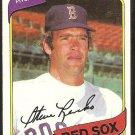 BOSTON RED SOX STEVE RENKO 1980 TOPPS # 184 NR MT