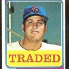 Chicago Cubs Steve Stone 1974 Topps Traded Baseball Card # 486T vg