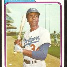 Los Angeles Dodgers Lee Lacy 1974 Topps Baseball Card # 658 ex