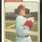 Chicago White Sox Chuck Brinkman 1974 topps baseball card # 641