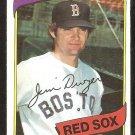 Boston Red Sox Jim Dwyer 1980 Topps Baseball Card # 576 ex mt