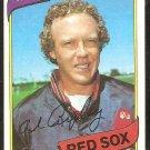 Boston Red Sox Allen Ripley 1980 Topps Baseball Card # 413 ex/nm