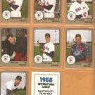 1988 Pro Cards Pawtucket Red Sox Team Set Glenn Hoffman Quintana Tom Bolton