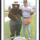 Detroit Tigers Jack Morris 1987 Smokey The Bear Fire Prevention Baseball Card # 6