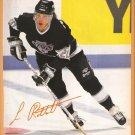 Los Angeles Kings Luc Robitaille 1991 Pinup Photo