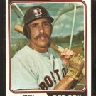 BOSTON RED SOX RICK MILLER 1974 TOPPS BASEBALL CARD # 247 EX MT