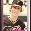 San Francisco Giants Jim Wohlford 1981 Topps Baseball Card # 11 nr mt