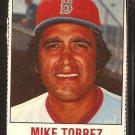 Boston Red Sox Mike Torrez 1978 Hostess Baseball Card # 127