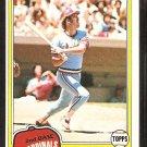 St Louis Cardinals Ken Oberkfell 1981 Topps Baseball Card # 32 nr mt