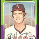 California Angels Bill Singer 1975 Topps Baseball Card # 40 vg