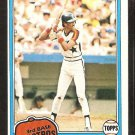 HOUSTON ASTROS ENOS CABELL 1981 TOPPS # 45 NR MT