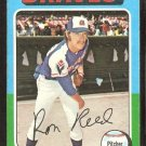 Atlanta Braves Ron Reed 1975 Topps # 81 vg/ex