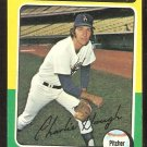 Los Angeles Dodgers Charlie Hough 1975 Topps Baseball Card # 71 vg