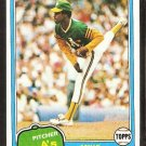 Oakland A's Athletics Mike Norris 1981 Topps # 55 nr mt