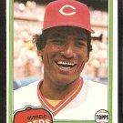 Cincinnati Reds Hector Cruz 1981 Topps # 52 nr mt