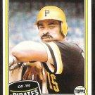 Pittsburgh Pirates Bill Robinson 1981 Topps # 51 nr mt