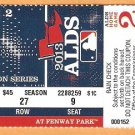 2013 Boston Red Sox Tampa Bay Rays Alds Game 2 Ticket David Ortiz 2 Hr Jacoby Ellsbury