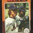 New York Mets Wayne Garrett 1975 Topps Baseball Card # 111 vg