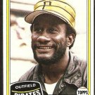 Pittsburgh Pirates Matt Alexander 1981 Topps Baseball Card # 68 Nr Mt