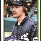 Chicago White Sox Ken Kravec 1981 Topps Baseball Card # 67 Nr Mt