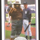 NEW YORK YANKEES MIKE PAGLIARULO 1987 SMOKEY THE BEAR FIRE PREVENTION CARD # 9