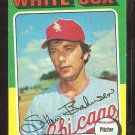 1975 Topps # 161 Chicago White Sox Stan Bahnsen