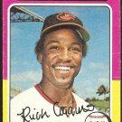 1975 Topps # 167 Baltimore Orioles Rich Coggins