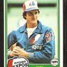1981 Topps # 71 Montreal Expos Hal Dues nr mt