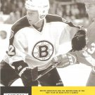 Boston Bruins Dmitri Khristich January 1999 NESN Cable TV Schedule Flyer Big East Providence Bruins