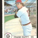 1979 OPC O Pee Chee # 47 Boston Red Sox Frank Duffy
