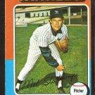 1975 Topps # 183 New York Yankees Mel Stottlemyre