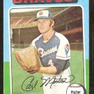 1975 Topps # 237 Atlanta Braves Carl Morton
