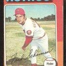 1975 Topps # 252 Houston Astros Fred Scherman