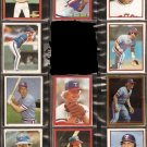 1981-84 TEXAS RANGERS 23 DIFF TOPPS STICKERS BUDDY BELL OLIVER SUNDBERG RIVERS PARRISH ++
