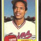 1981 Topps # 89 Minnesota Twins Darrell Jackson nr mt