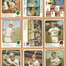 1973 Topps Pittsburgh Pirates Team Lot 19 diff Willie Stargell Al Oliver Zisk Briles Stennett Kison