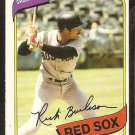 1980 O Pee Chee OPC # 339 Boston Red Sox Rick Burleson