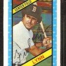 1980 Kelloggs 3-d Super Stars # 40 Boston Red Sox Fred Lynn
